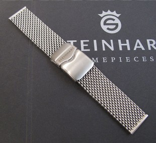 Steinhart Mesh-band stainless steel, band009