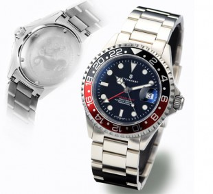 Steinhart GMT-Ocean 1 Black Red